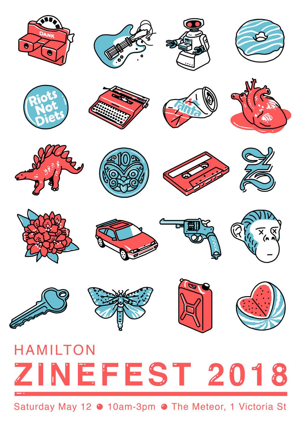 Image courtesy of Hamilton Zinefest