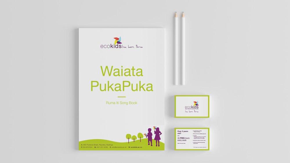 Ecokids Childcare branding