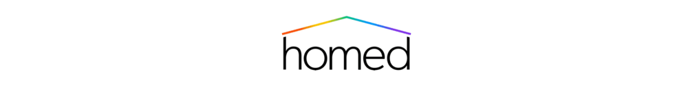 Homed logo design