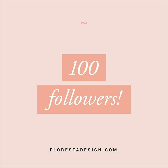 ~ We made it over the 100 followers mark! Thank you so much everyone. I would much rather have a few loyal followers than hundreds that you can't engage with 😘 . #designerlife #floresta #florestadesign #graphicdesign #womanempowerment #designstudio #ladybossnetwork #creativebusiness #femaleentrepreneur #shemeansbusiness #womensupportingwomen #likeaboss #design #minimal #creative #business #designinspo #moodboard #excitingstuff #identitydesign #webdesigner #businesswomen #typography #type #typematters #designlife #designinspiration #femaleentrepreneur #typegang #savvybusinessowner