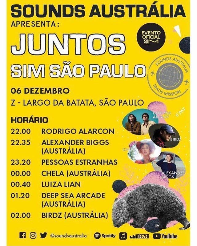 Tonight São Paulo, I'm on at midnight! ❤️🦀🌿💦✨