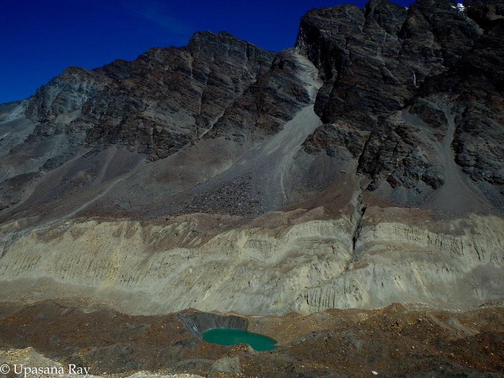 Chaturangi glacier