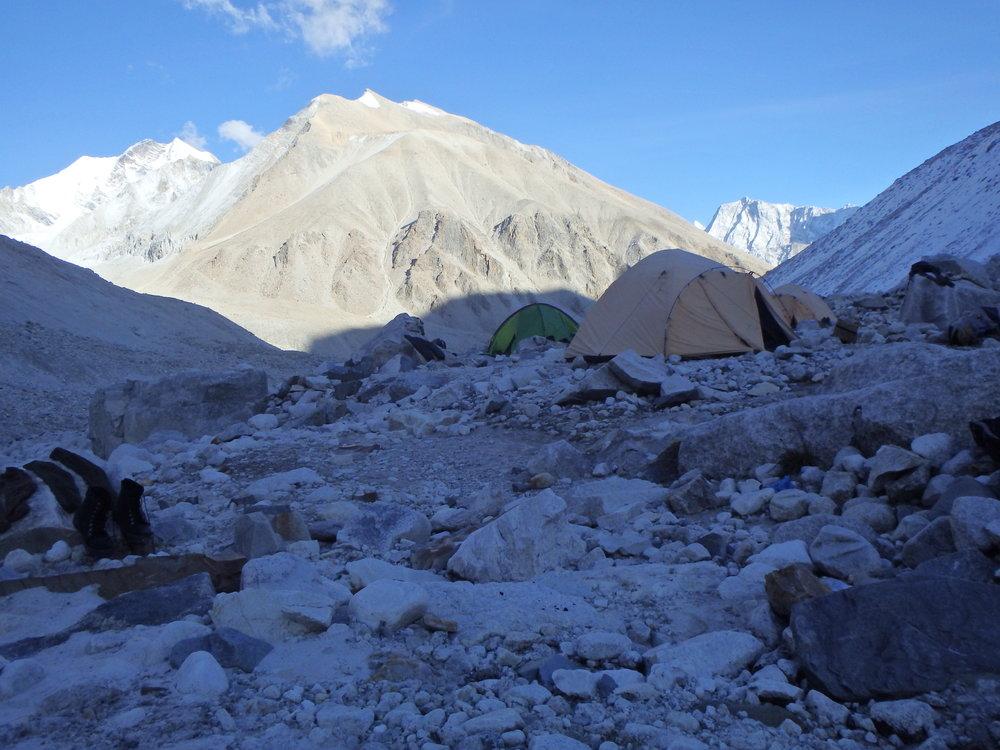 Camp at Raj Parav