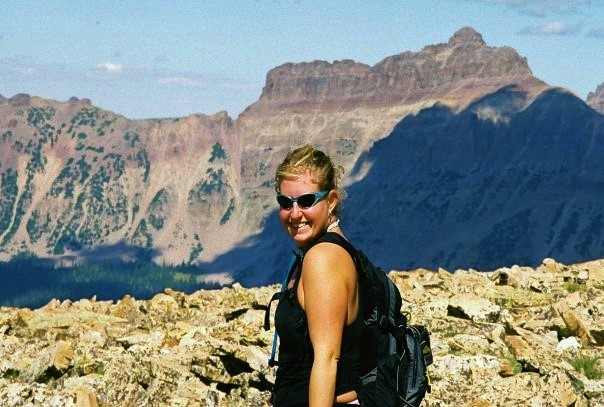 No fear of commitment to the outdoors. - Jenn is originally from Denver, Colorado.  She recently moved from San Diego, California to her present home in Orlando Florida.  Jenn shifted from her love of skiing to a  new passion - hiking.  Her hiking life started at a much earlier age though when a tragic event took shape in her life.  Since then, Jenn committed her life to the outdoors as nature has given her so much in return.  When many of us fear commitment to various persons or moments in our lives, Jenn learned to commit to one aspect in her life - her relationship to the outdoors, and that's despite against all odds including the challenges related to health and aging.