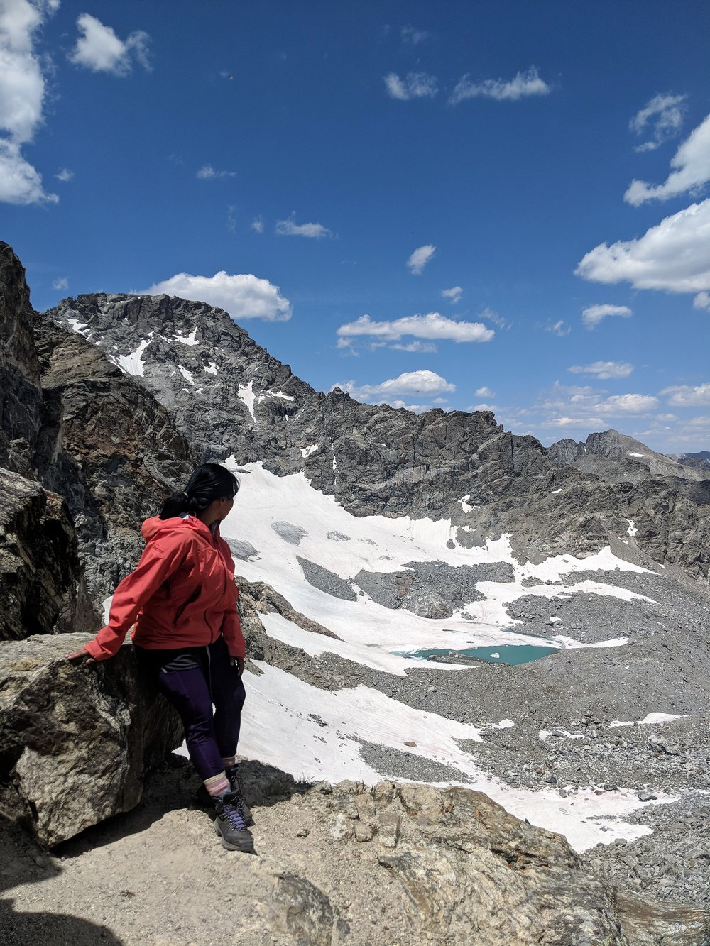 Training in Colorado's Indian Peaks Wilderness.