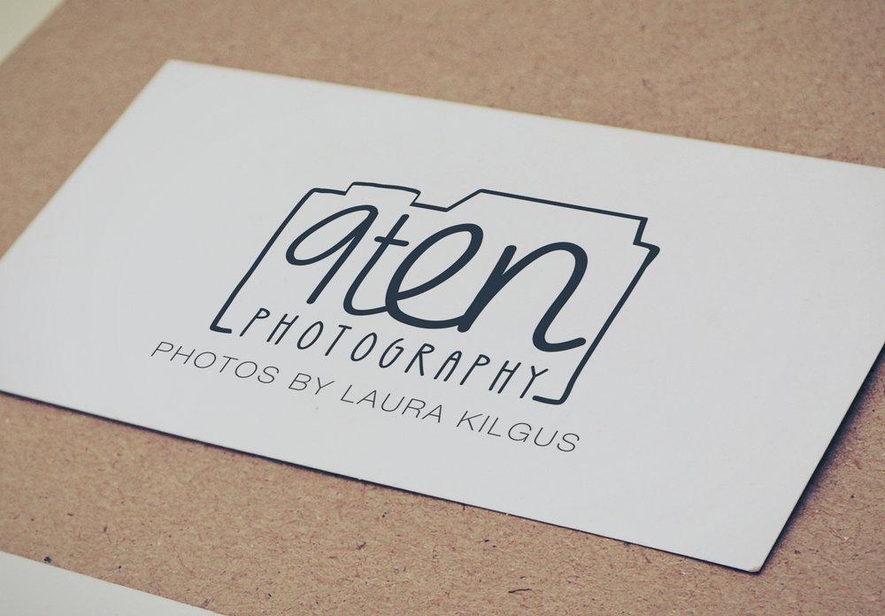 9ten photography logo