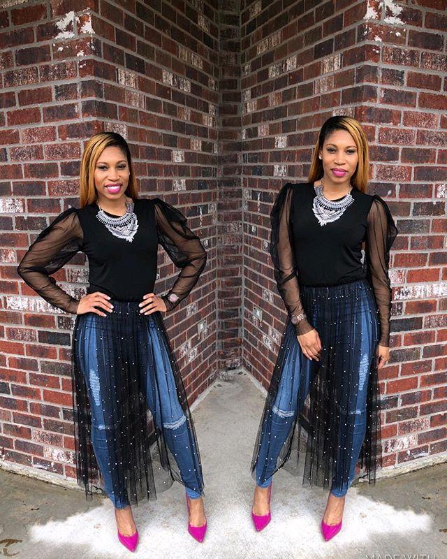 """Be Anything But, Predictable"" 🖤@shopposhave . . . . #bloglovinfashion #blackblogger #browngirlbloggers #churchchicfashionista #blogger #fashion #blackstylist #stylist #naturalhairblogger #iblog #ootd #slay #girlpower #melaninpopping #melaninbloggersclub #boutiquestylist #bombstylist theblogbar #nollywoodglamour #blackbloggersclub #blackbombshell #fashionbombdaily #liketoknowit #tulleskirt #stylecollective #ootdfashion #pinkheels"