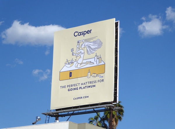 Casper mattress going platinum billboard.jpg