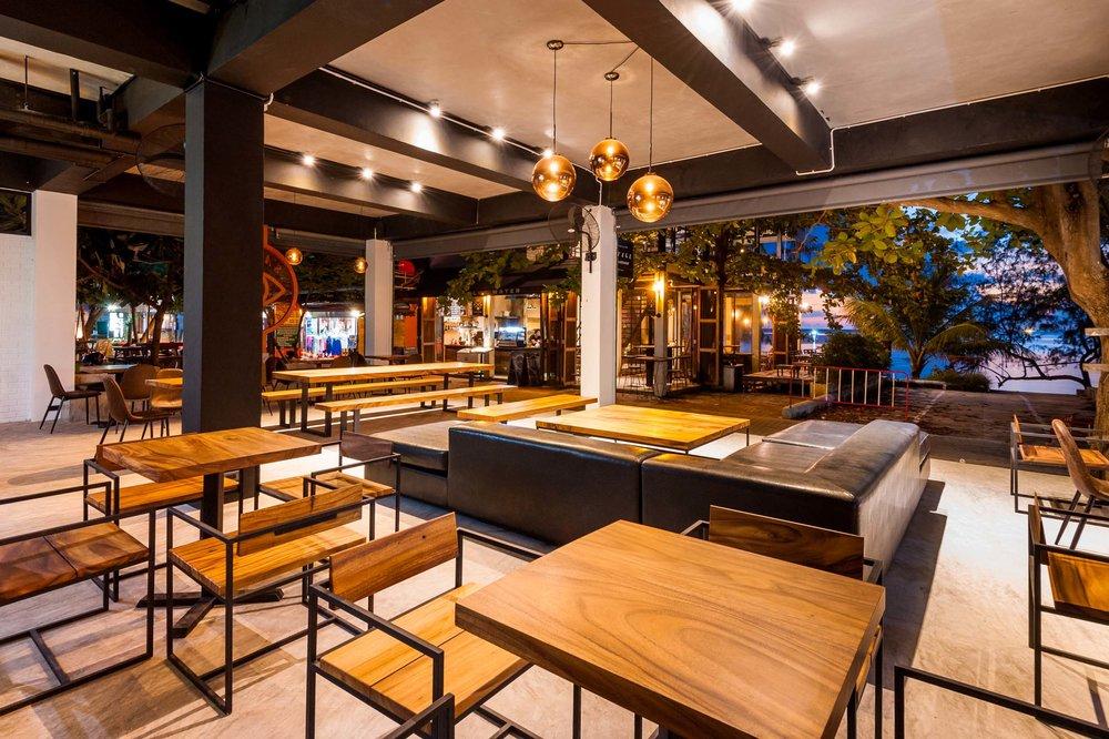 Savage Hostel Koh Tao - Restaurant