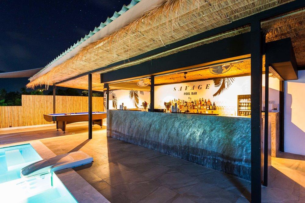 Savage Hostel Koh Tao - Lounge Bar