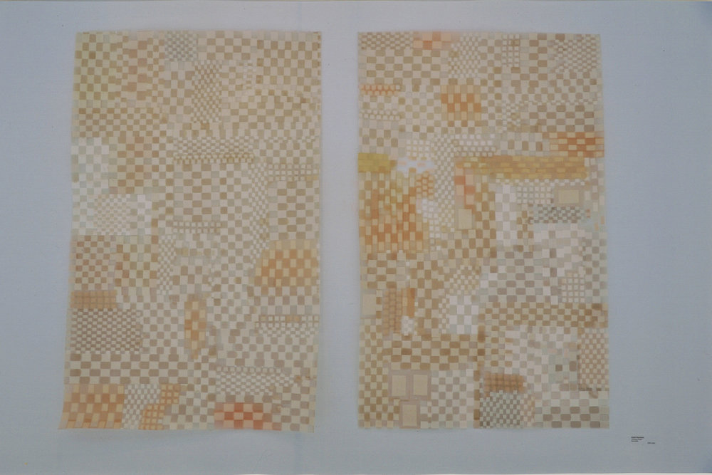 Each 24 in x 36 in, 2010, band-aids