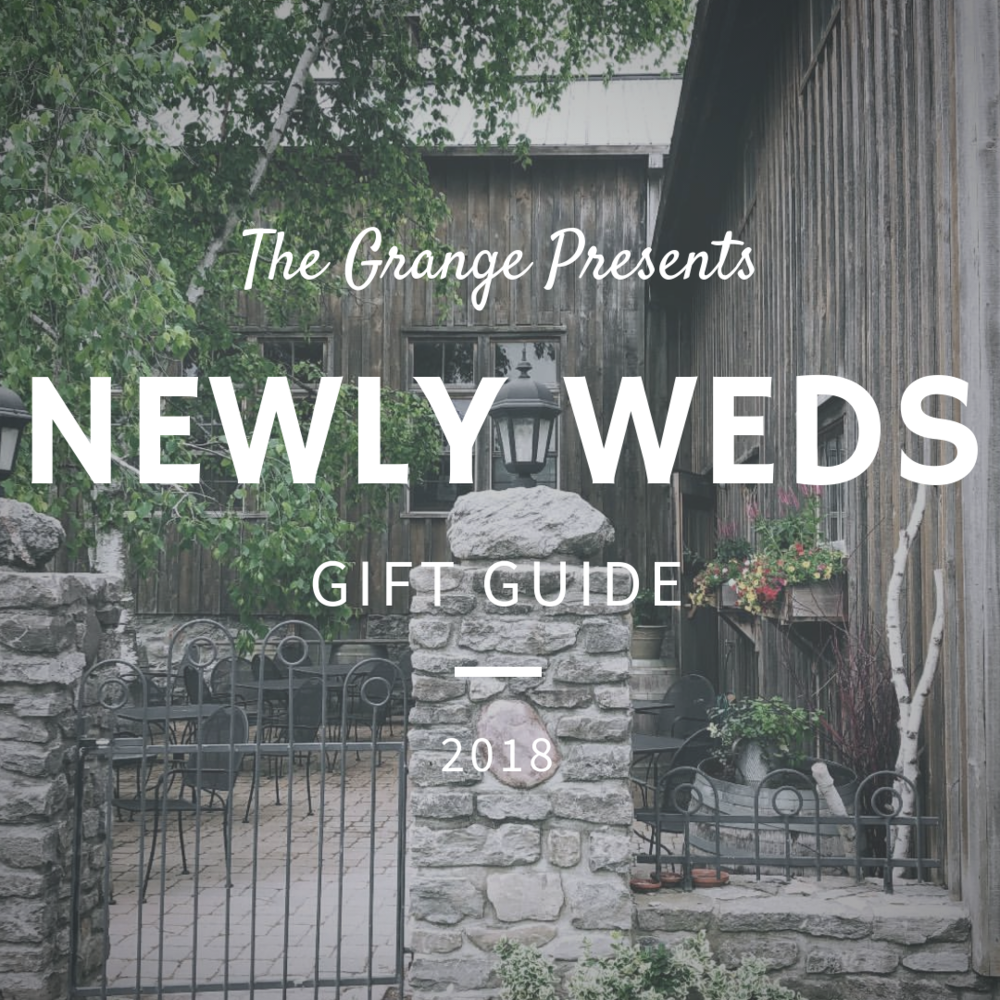 Newly Weds Gift Guide   They just got married, they have everything they need for their house… so what to get them? We have a few new ideas to think about!