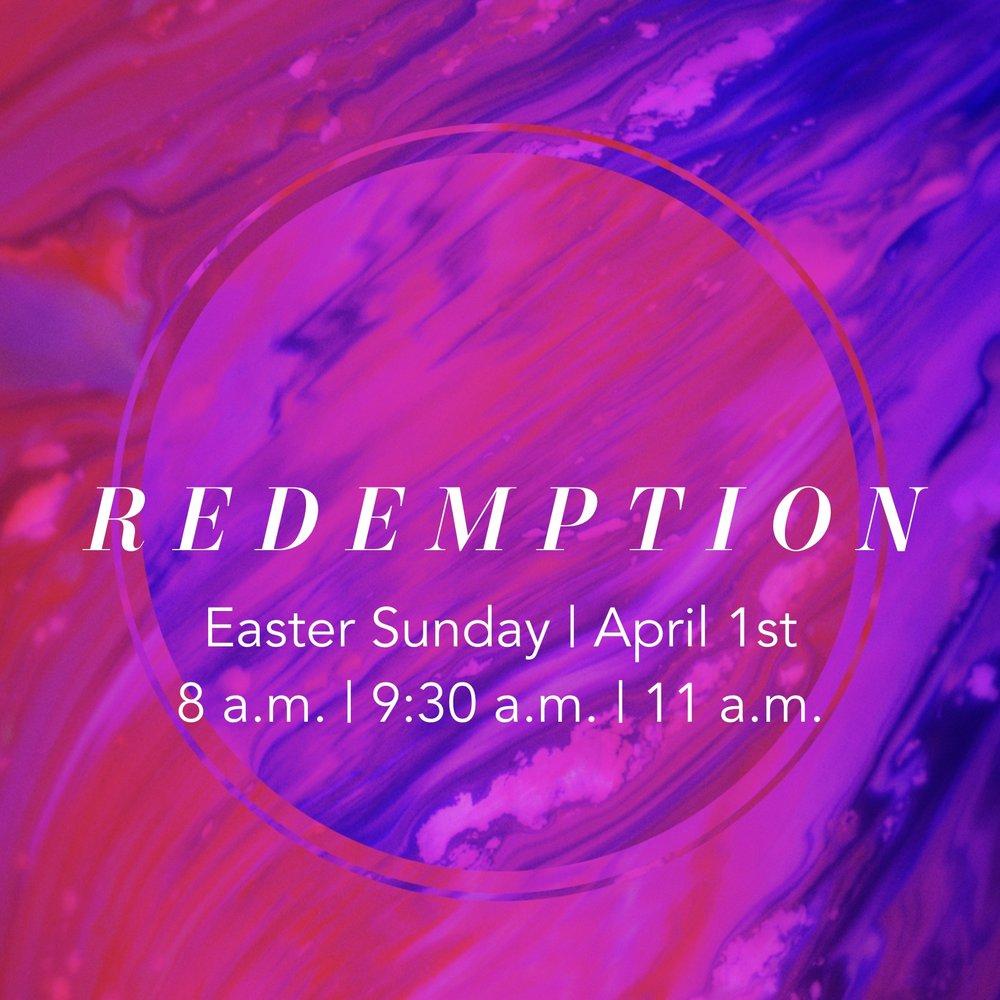 Easter 2018: Redemption