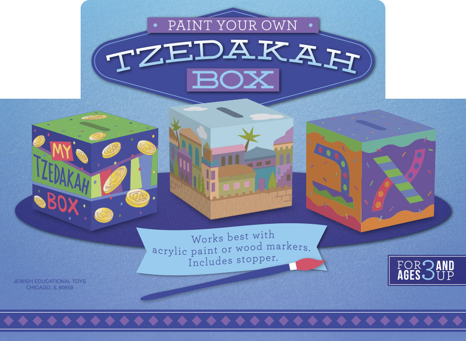 Tzedakah Box Display