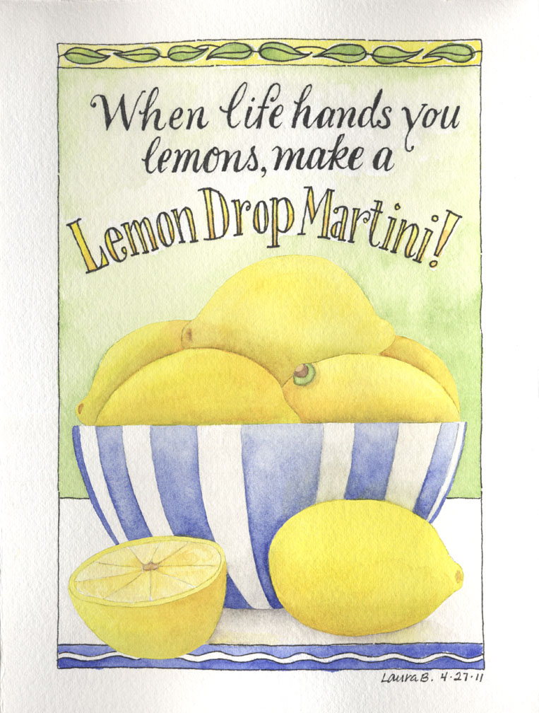 Lemon Drop Martini-2