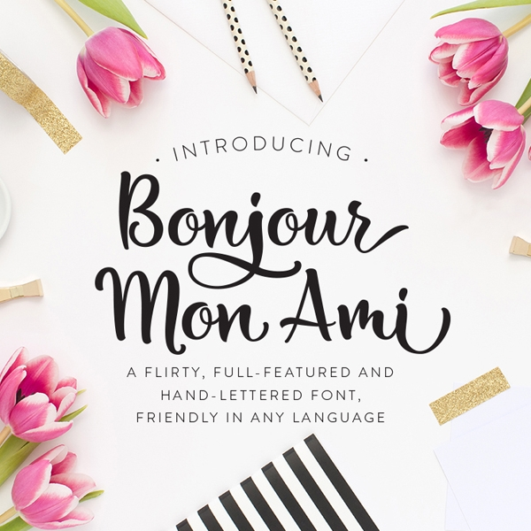 Creative Market - Fonts and Lettering Overlays