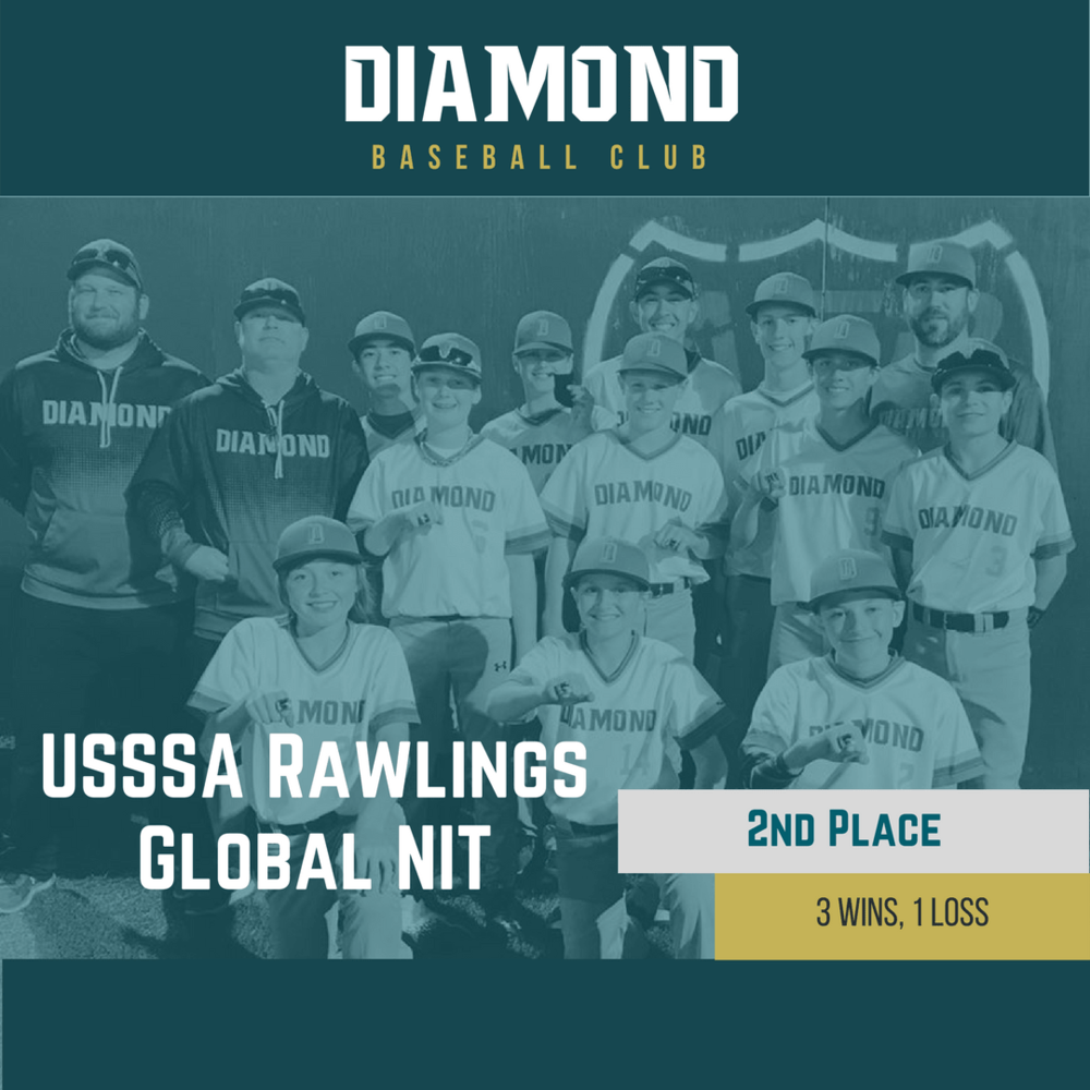 2nd Place USSSA Rawlings Global NIT