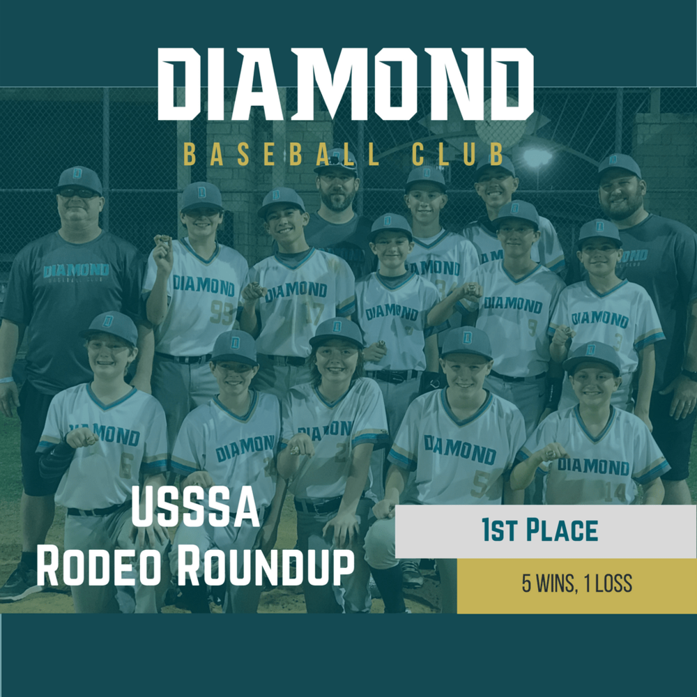 1st Place USSSA Rodeo Roundup