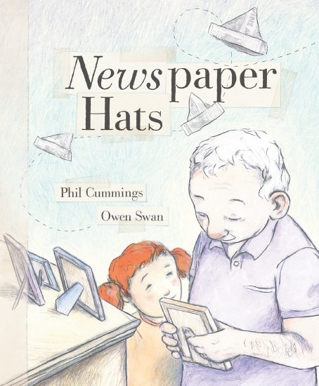 NEWSPAPER HATS  by Phil Cummings