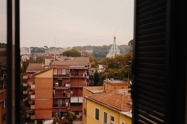 window over rome