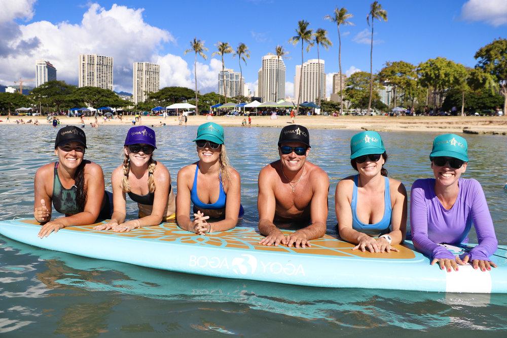 sup yoga teacher training — yoga kai hawai'i