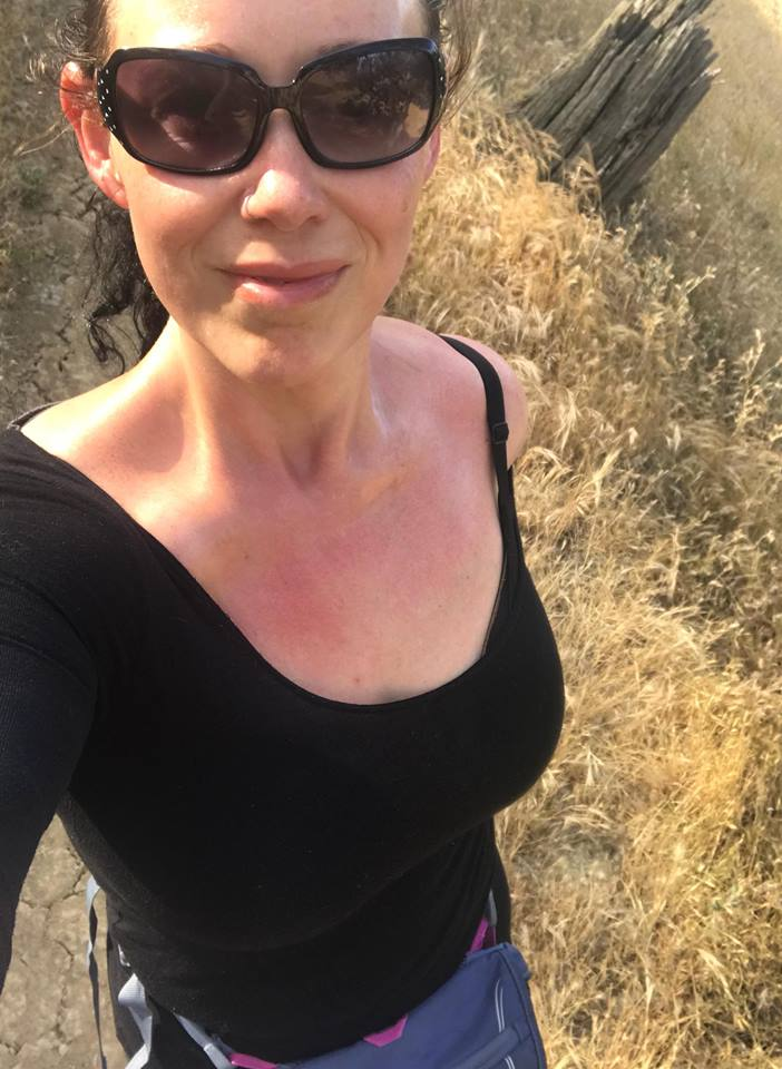 Hiking is my passion. When I started my journey I could barely walk around the block, and now I can hike ten miles up a mountain! It all happens one step at a time.