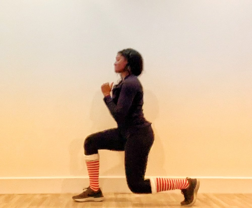 Lunges (alternating legs)