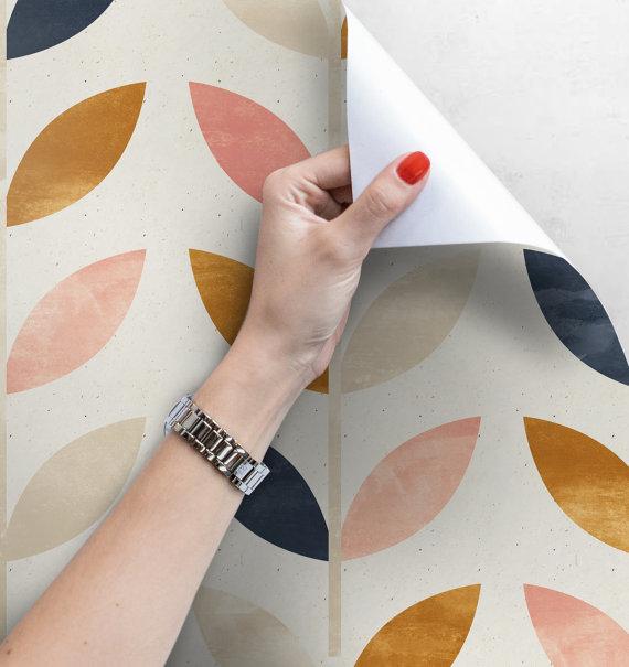 Scandinavian Style Pattern Wallpaper