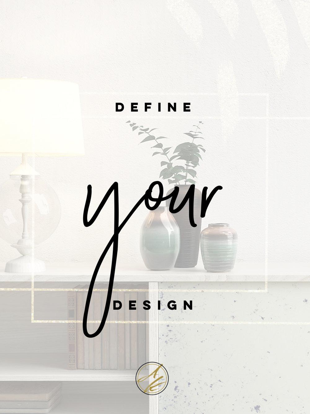 Albie Knows Define Your Design Intensive