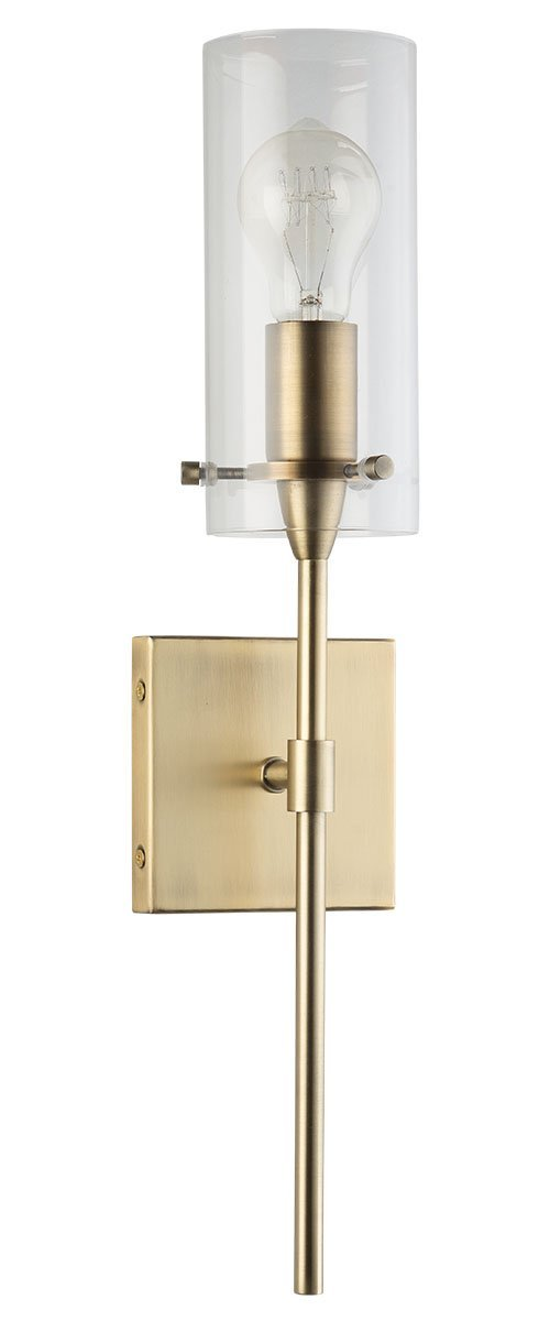 Linea di Liara Effimero Wall Sconce, Brushed Brass