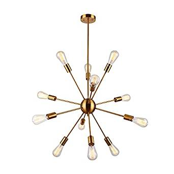 Sputnik Chandelier Light Fixture