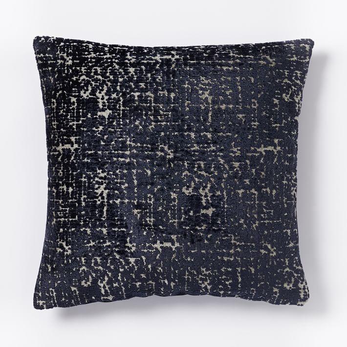 Nightshade Jacquard Velvet Allover Textured Pillow Cover
