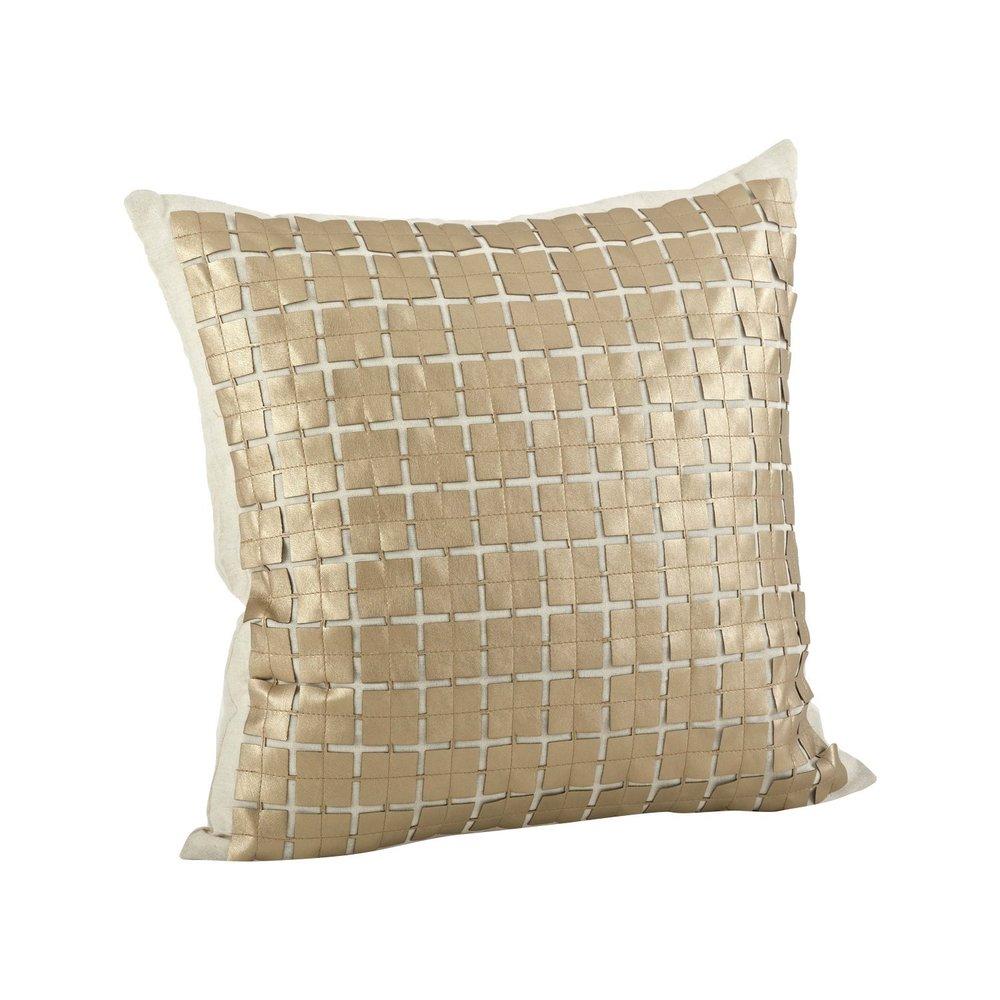 "18"" Gold Lisandro Pillow"