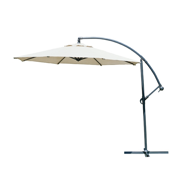 10' Round Freestanding Cantilever Umbrella