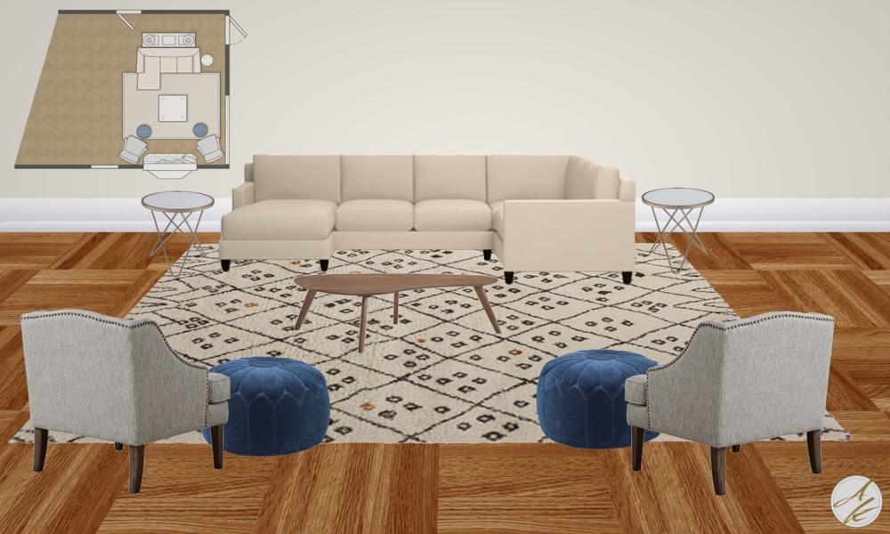Living Room Draft Design