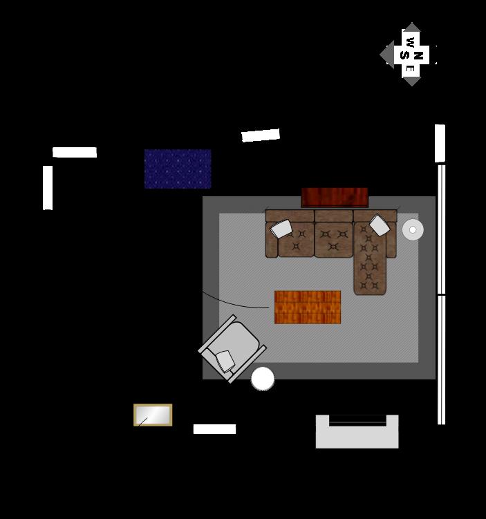 Living Room Final Floor Plan