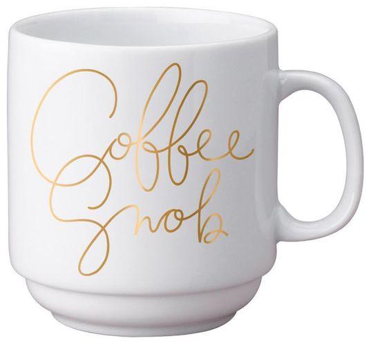 Easy Tiger Stackable 12 oz. Coffee Snob Mug