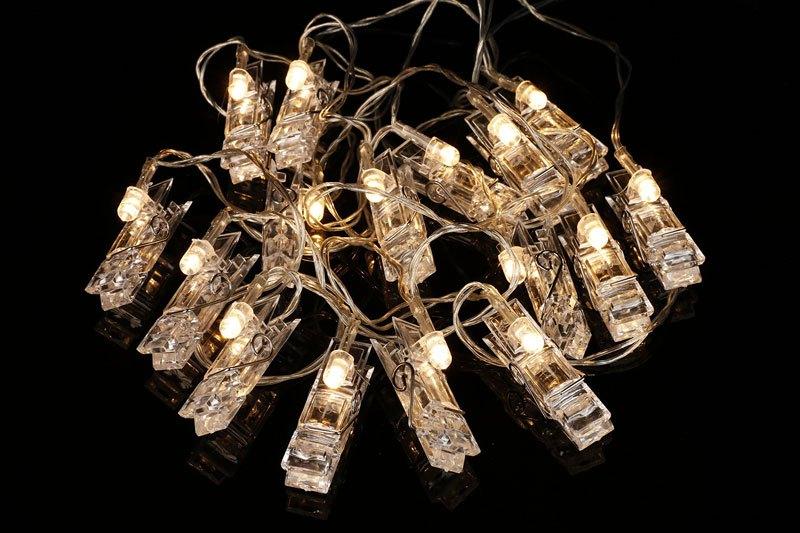 LED Photo Clip String Lights by Merkury