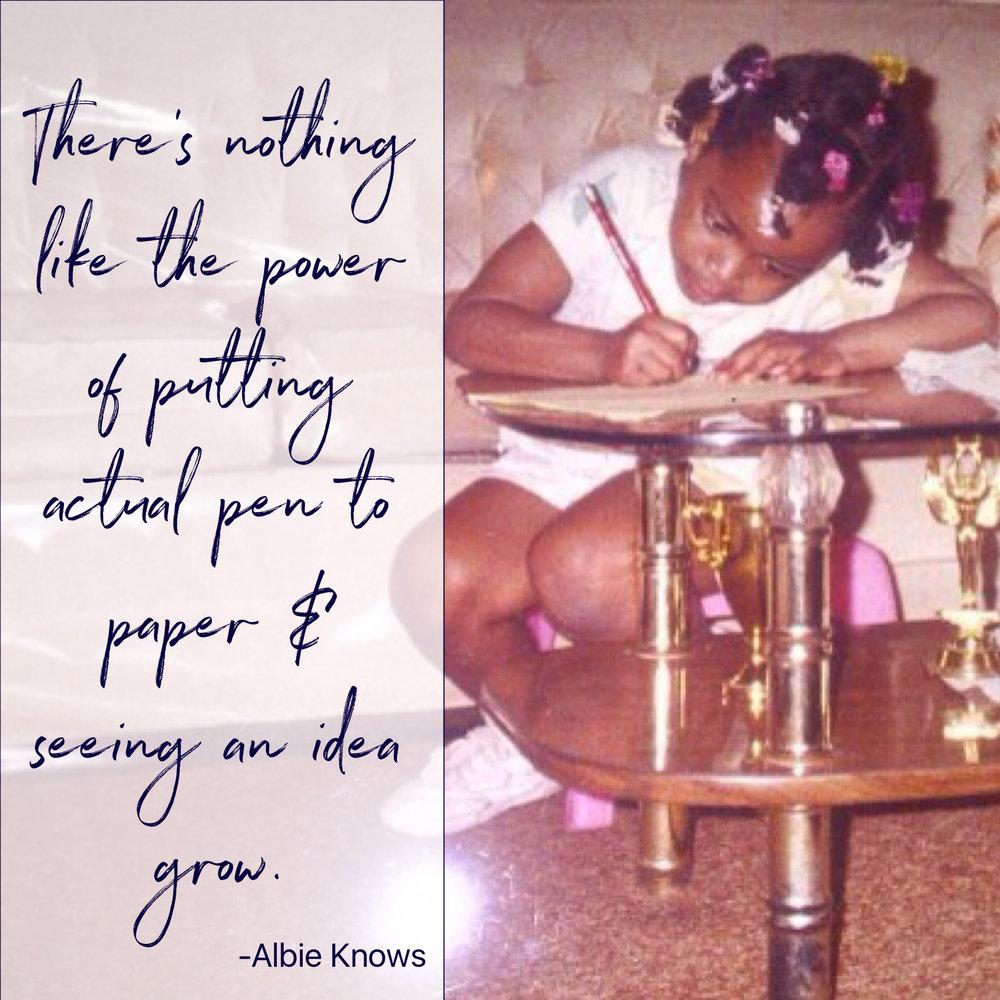 Albie Knows Pen & Paper