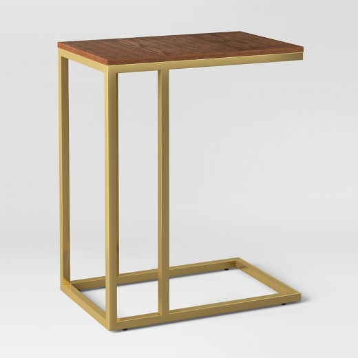 Antwerp C-Table - Walnut