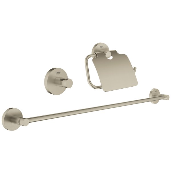 3 Piece Bathroom Hardware Set