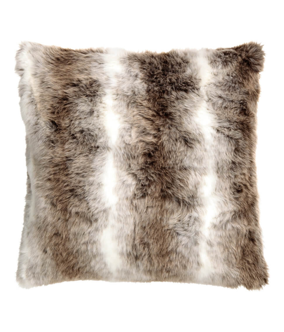 Faux Fur Cushion Cover - H&M HOME