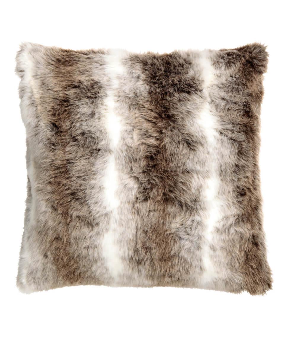 Faux Fur Cushion Cover - H&M HOME