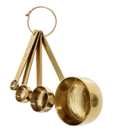 4 Piece Metal Measuring Set - H&M HOME