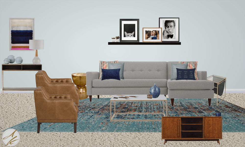 Sophisticated Yet Casual Living Room Design Board By Albie Knows