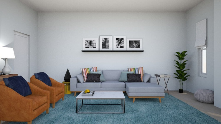 Yet Casual Living Room by Albie Knows