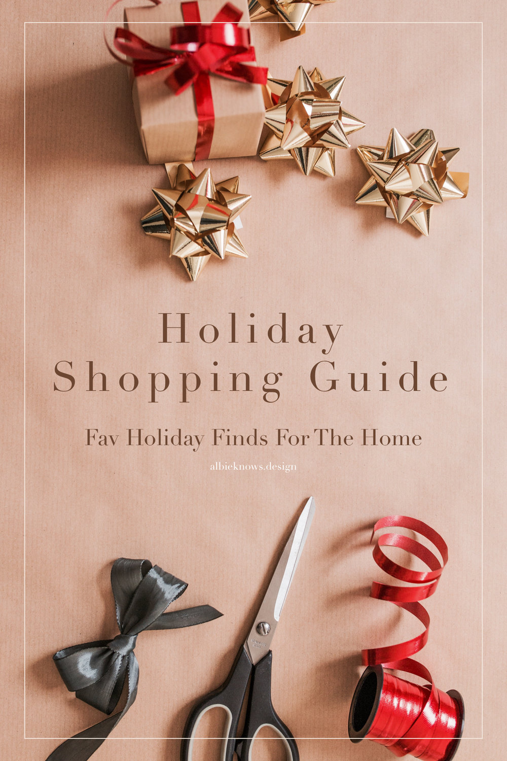 Albie Knows Holiday Shopping Guide