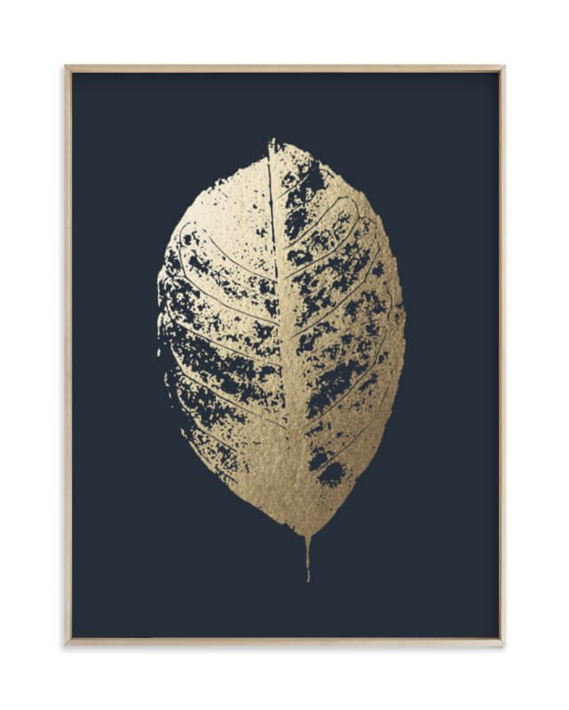 Lemon Tree Gold Foil Print