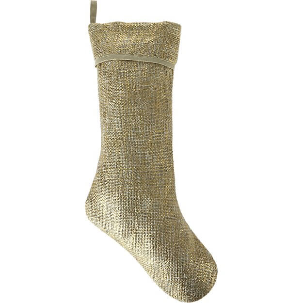 Glitterati Gold Stocking - CB2