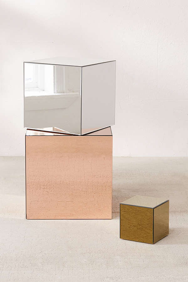 Mirrored Cube - Urban Outfitters